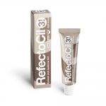 RefectoCil Light Brown 3.1 - jasnobrązowa henna do brwi i rzęs 15ml