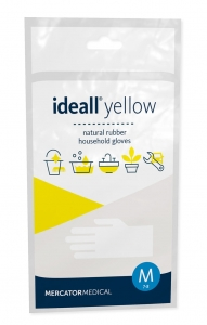 Rękawice IDEALL YELLOW XL 1para