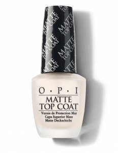 OPI Matte Top Coat - matowy top 15ml