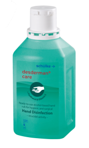 Desderman Pure CARE - płyn do dezynfekcji rąk 500ml